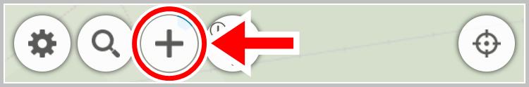 マップ情報新設申請ボタン